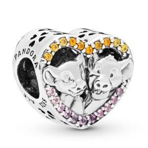 New Pandora Disney, Sparkling Simba & Nala Charm